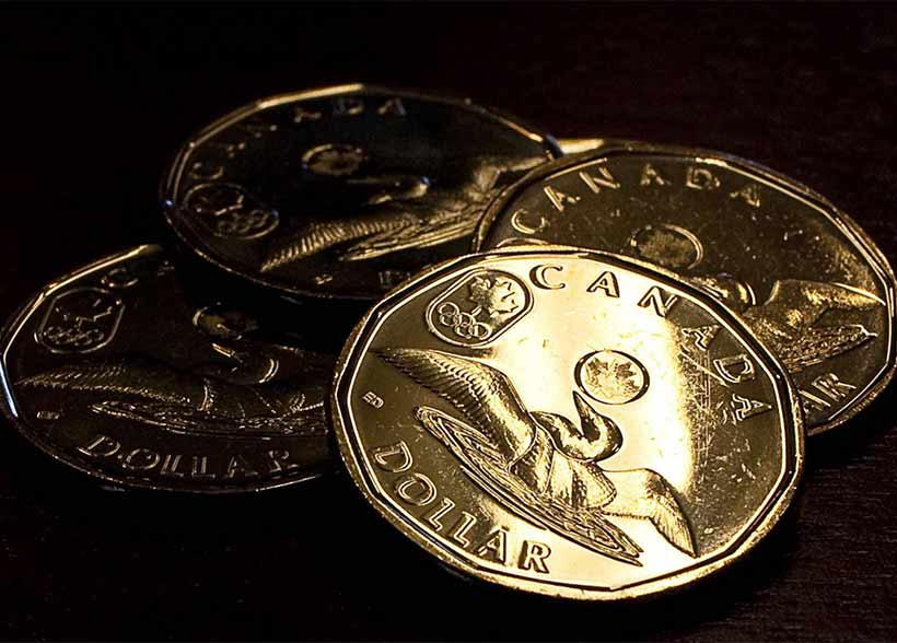 Canadian dollar under pressure