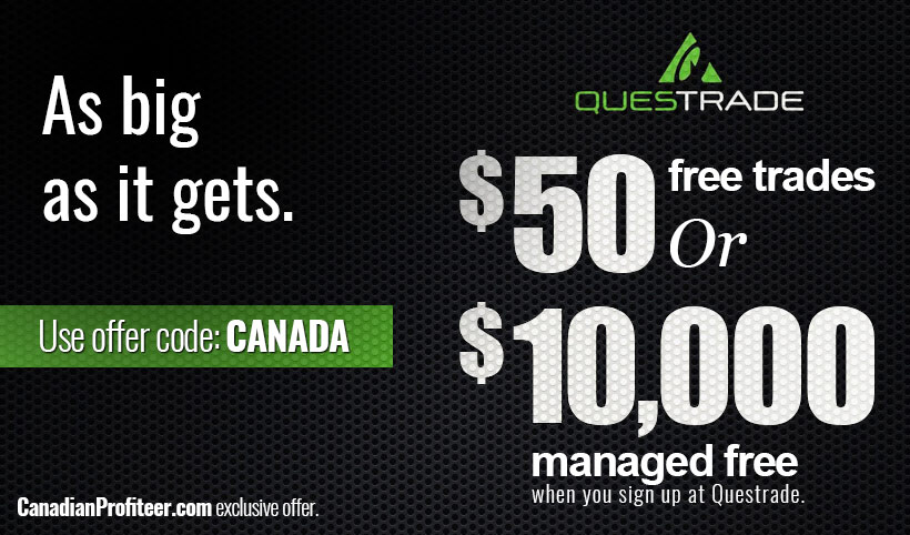$50 Questrade Promotion Code